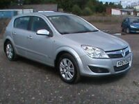VAUXHALL ASTRA 1.6 DESIGN 5 DR SILVER 1 YRS MOT,CLICK ON VIDEO LINK TO SEE AND HEAR MORE ABOUT IT
