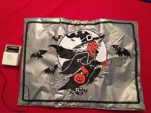 Halloween Doormat Witch Cackles Battery Operated