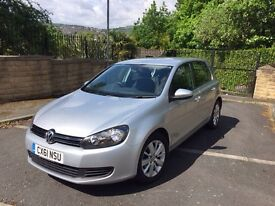 2011 (61) VW GOLF 1.6 TDI (dsg) BLUEMOTION TECH MATCH DSG, 5 DOOR, FSH,FULL MOT-£20 tax