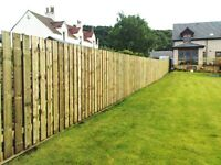 EAST KILBRIDE FENCE WORKS ........TIMBER GARDEN FENCING