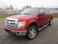 2013 F150 LARIAT XTR 4x4 mint leather dvd