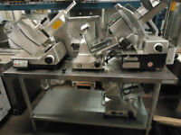 Cut Up Meats, Cheeses, and Vegetables - Commercial Slicers