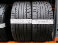 R86 2X 255/40/19 96W CONTINENTAL SPORT CONTACT 5 SSR RFT 2X7MM TREAD