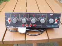 PULSAR ZERO 4000 DISCO LIGHT CONTROLLER -TOP CLASS PRO UNIT- 4 CHANNEL !!!!