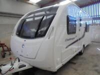 2013 Swift Challenger 574 SE 4 Berth Caravan For Sale.End Washroom.Motormover.