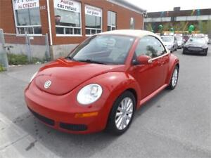 VOLKSWAGEN NEW BEETLE DÉCAPOTABLE 2009 2DR WOW!!
