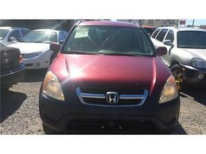 2002 CRV AUTO ETESTED AND SAFETY EXCELLENT CONDITION