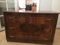 Chest-of-Drawers (Walnut-effect laminate)