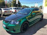 2011 Holden Commodore VE II SV6 Green Sports Automatic Sedan Kelmscott Armadale Area Preview