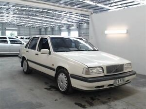 1995 Volvo 850 50 GLE GLE White 4 Speed Automatic Sedan Beresfield Newcastle Area Preview