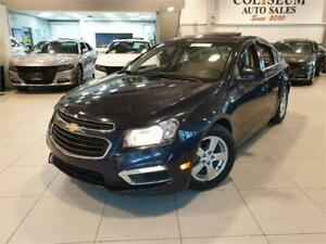 """2015 CHEVY CRUZE""""2LT LEATHER-ROOF-NAVIGATION-CAMERA-HEATED"""""""