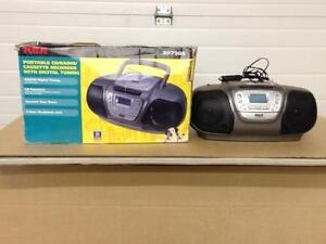 Stereo AM/FM Single Disc CD Player