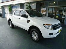 2011 Ford Ranger PX XL 2.2 HI-Rider (4x2) White 6 Speed Automatic Crewcab Hamilton Newcastle Area Preview