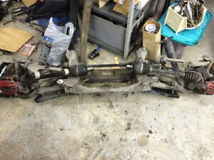 2002 corvette C5 rear suspension with cradle