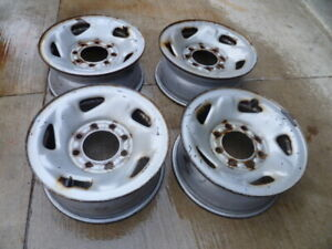 DODGE STEEL RIMS  16 IN CH  8 BOLT