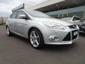 2011 Ford Focus LW Titanium PwrShift Moondust Silver 6 Speed Sports Automatic Dual Clutch Hatchback Strathmore Heights Moonee Valley Preview