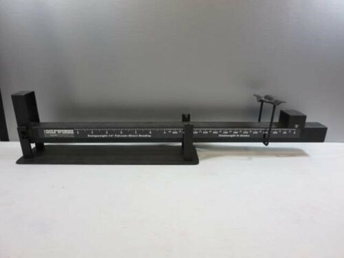"""Golf Club Fulcrum 14"""" Swing Weight Golf Works Ralph Maltby Scale"""