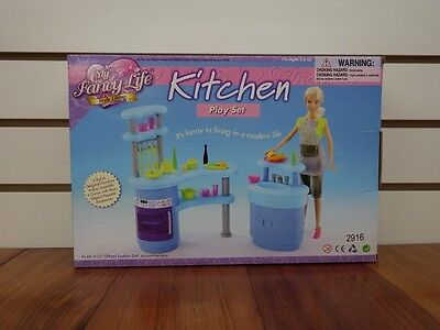 Gloria,Barbie Doll House Furniture/(2916) My Fancy Life Kitchen