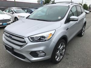 2017 Ford Escape Titanium with Active Park Assist and Adaptive C