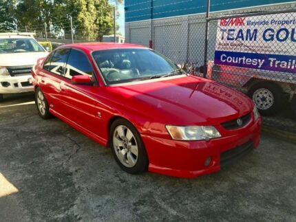 2003 Holden Commodore VY SS Red 4 Speed Automatic Sedan Capalaba Brisbane South East Preview