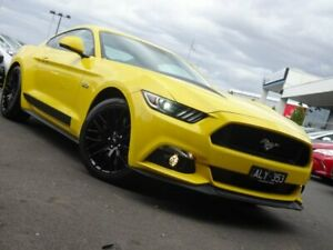 2016 Ford Mustang FM 2017MY GT Fastback SelectShift Triple Yellow 6 Speed Sports Automatic Fastback