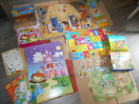 Floor Jigsaw Puzzle Bundle + ABC Game- Educational