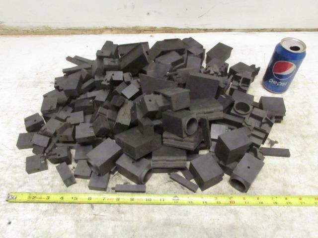 Carbon Graphite Scrap Pieces Mold Material 23 Lbs Various Shapes EDM Machine