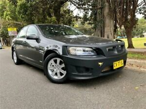 2010 Holden Commodore VE MY10 Omega Charcoal 6 Speed Automatic Sedan Strathfield Strathfield Area Preview
