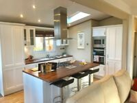 *LUXURY 3 BEDROOM PEMBERTON LODGE FOR SALE IN THE YORKSHIRE DALES- REDUCED- 5* PARK-OPEN 12 MONTHS *