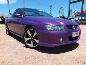 2007 Holden Ute VZ MY06 SVZ Purple 6 Speed Manual Utility Rosslea Townsville City Preview