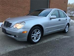 2004 Mercedes-Benz C-Class 2.6L- C240 4MATIC.Fully Certified