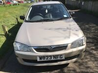 MAZDA 323 1.3 VERY GOOD CONDITION DRIVES NICE MOT TILL NOVEMBER ECONOMICAL AND RELIABLE