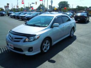 2013 TOYOTA COROLLA S - SUNROOF, BLUETOOTH, FOG LIGHTS, KEYLESS