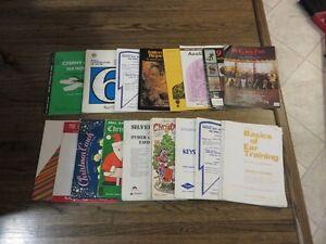 Lot of Beginner to Intermediate Piano music books