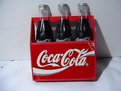 Coca Cola 3 Pack Refrigerator Magnets 1995 TM Coca Cola Co.