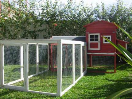 Chicken Coop and Run Somerzby Mansion Rabbit Hutch Cat Enclosure