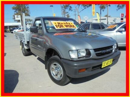 2000 Holden Rodeo TFR9 LX Grey 5 Speed Manual Cab Chassis North Parramatta Parramatta Area Preview