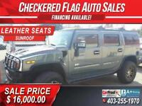 2005 HUMMER H2 - LEATHER/SUNROOF/NAVIGATION Calgary Alberta Preview