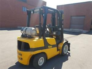 forklift  Yale GLP060VX pneumatic for indoor and outdoor 2014
