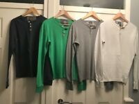 4 x Men's large Superdry casual shirts