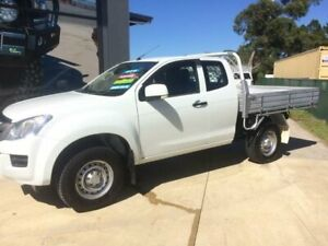 2014 Isuzu D-MAX TF MY15 SX (4x4) White 5 Speed Automatic Space Cab Chassis Tuncurry Great Lakes Area Preview