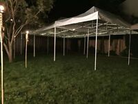 Tent - Canopy - For Rent - White - Wedding - Party - Receptions
