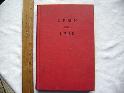 APME, Inc. 1948.  Review of Associated Press Study Committees.  Hardcover.