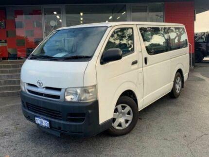 2007 Toyota HiAce KDH201R Van LWB 3dr Man 5sp 3.0DT White Manual Van Como South Perth Area Preview