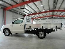 2012 Toyota Hilux GGN15R MY12 SR White 5 Speed Automatic Utility Welshpool Canning Area Preview