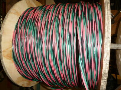 500 Ft 122 Wg Submersible Well Pump Wire Cable - Solid Copper Wire