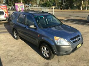 2002 Honda CR-V RD Wagon 4dr Auto 4sp 4x4 2.4i (ABS) Blue Automatic Wagon Bass Hill Bankstown Area Preview