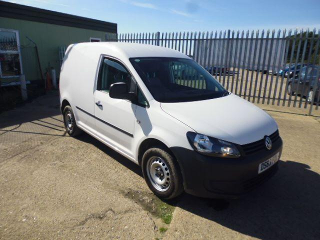 Volkswagen Caddy C20 1.6TDI 75PS STARTLINE VAN DIESEL MANUAL WHITE (2013)