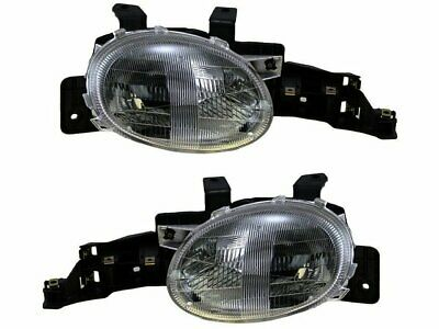 For 1995-1999 Plymouth Neon Headlight Assembly Set 63425VX 1996 1997 1998 1999 Plymouth Neon Headlight