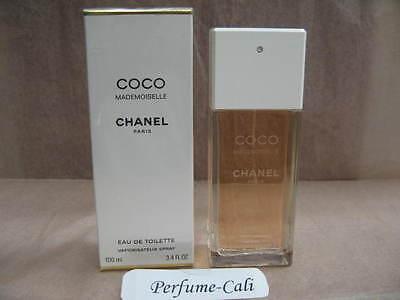 CHANEL COCO MADEMOISELLE 3.4 FL oz / 100 ML Eau De Toilette Spray In Damaged (Coco Mademoiselle Eau De Toilette Spray 100ml)